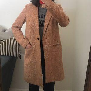 💕Zara Orange Long Coat